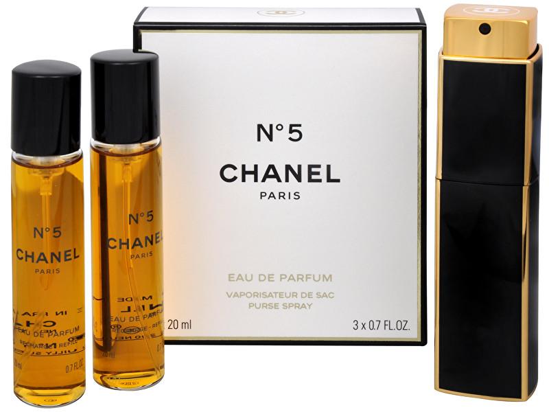 CHANEL No. 5 - EDP (3 x 20 ml) 60 ml