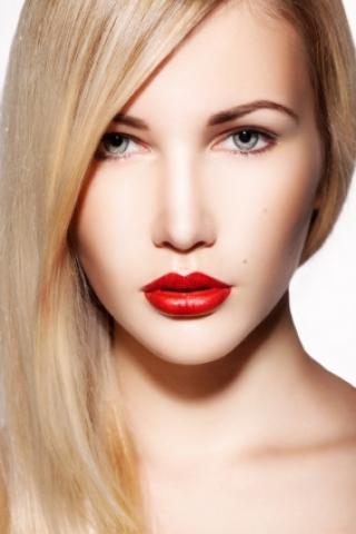 Clip-in umělé vlasy 50 cm - zlatá blond/platinová blond