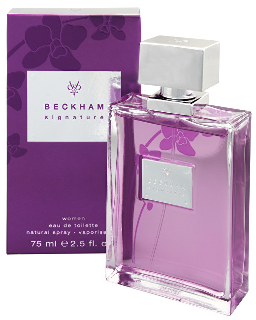 DAVID BECKHAM Signature For Women - EDT 75 ml