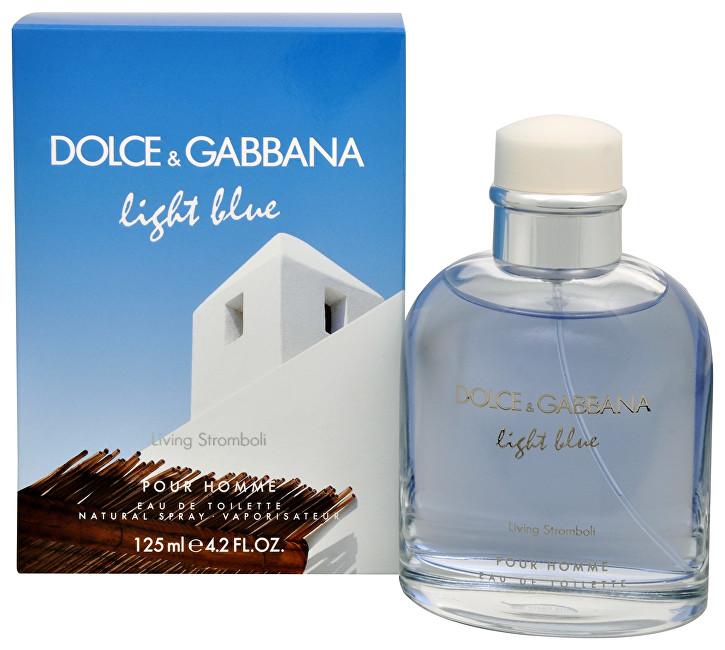 Dolce & Gabbana Light Blue Pour Homme Living Stromboli - EDT 125 ml