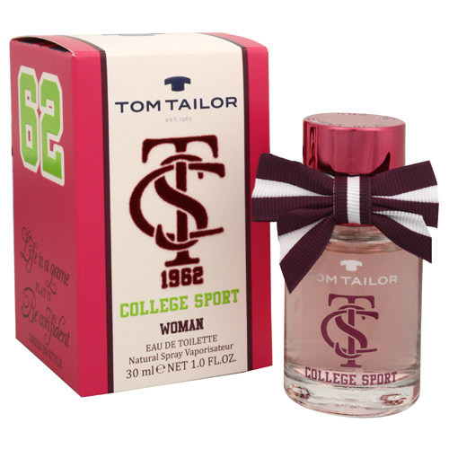 TOM TAILOR College Sport Woman - EDT 50 ml