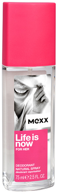 MEXX Life Is Now For Her - deodorant s rozprašovačem 75 ml