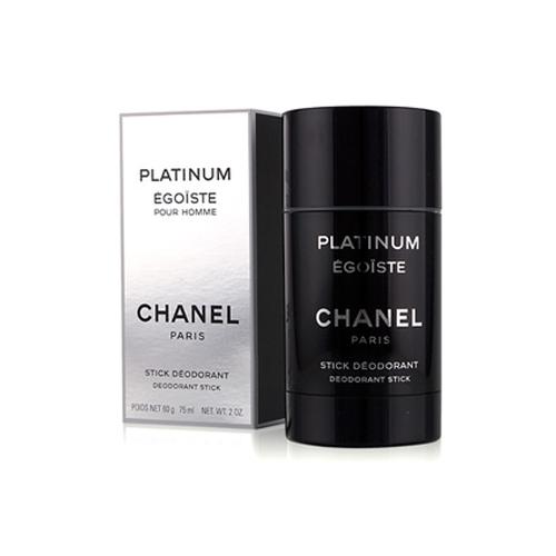 CHANEL Égoiste Platinum - tuhý deodorant 75 ml
