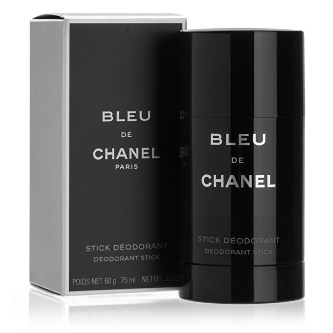CHANEL Bleu De Chanel - tuhý deodorant 75 ml