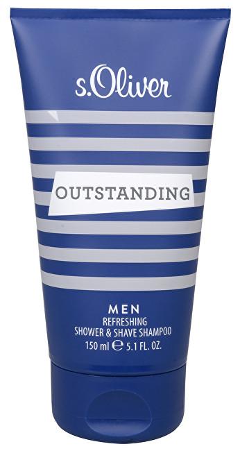 S.OLIVER Outstanding Men - sprchový gel 150 ml