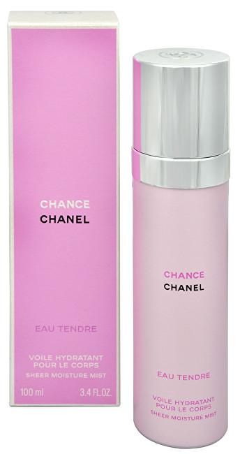 CHANEL Chance Eau Tendre - tělový závoj 100 ml