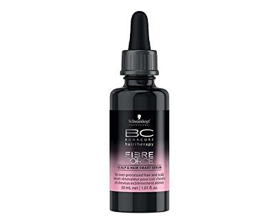 Schwarzkopf Professional Koncentrované keratinové sérum pro poškozené vlasy Fibre Force (Scalp & Hair Smart Serum) 30 ml