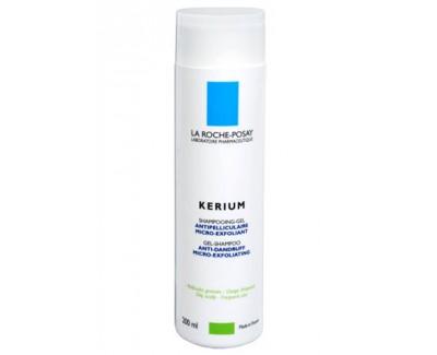 La Roche Posay Gelový šampon na mastné lupy Kerium 200 ml