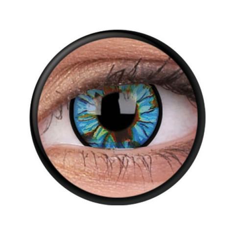 MaxVue Vision ColourVUE - Blue Streak 2 čočky - crazy čočky