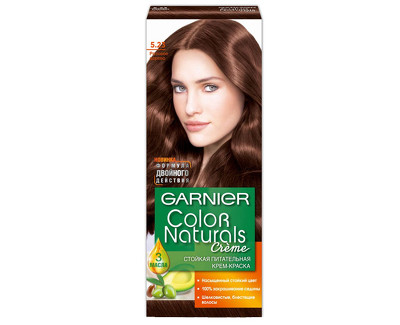 Garnier Dlouhotrvající vyživující barva na vlasy (Color natural Creme) 415