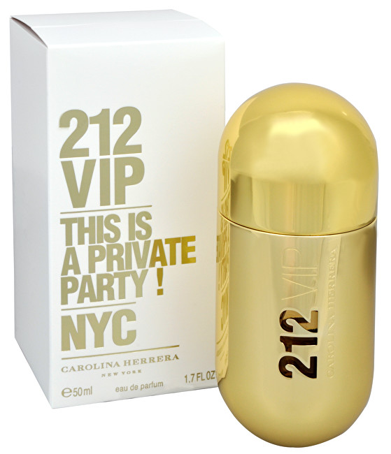 CAROLINA HERRERA 212 VIP - EDP 30 ml
