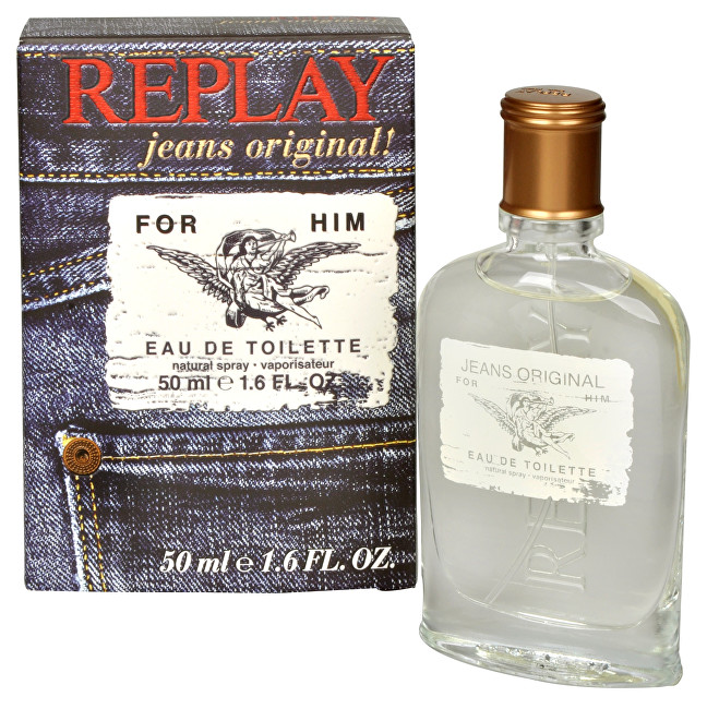 REPLAY Replay Jeans Original For Him - EDT 50 ml