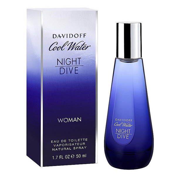 DAVIDOFF Cool Water Night Dive For Women - EDT 50 ml