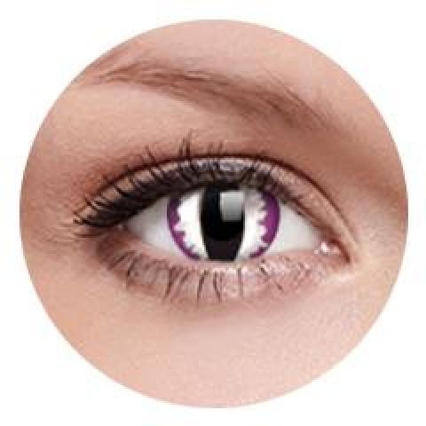 MaxVue Vision ColourVUE - Purple Dragon 2 čočky - crazy čočky