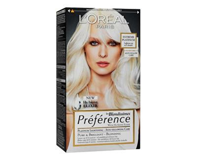 Loreal Paris Zesvětlující barva na vlasy Blondissimes Préférence Extreme Platinum