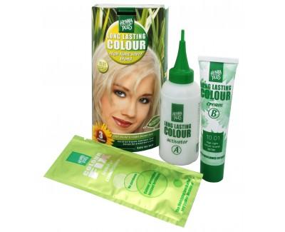 HennaPlus Dlouhotrvající barva na vlasy 100 ml (Long Lasting Colour) 10.01 Strieborná blond