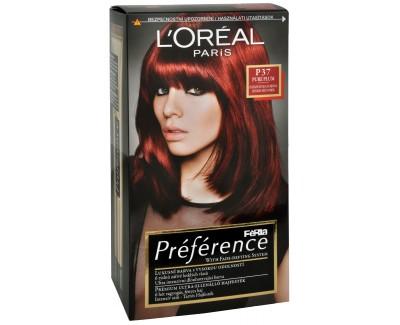 Loreal Paris Barva na vlasy Féria Préférence 74 Mango