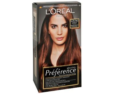 Loreal Paris Barva na vlasy Récital Préférence 4.15 / M1 Caracas