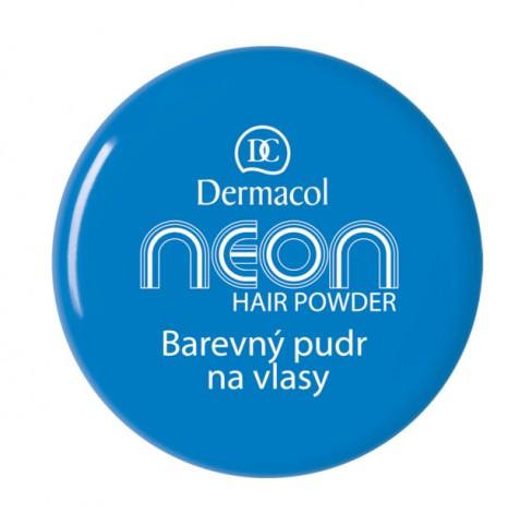 Dermacol Barevný pudr na vlasy Neon - Modrá č.5 modrá