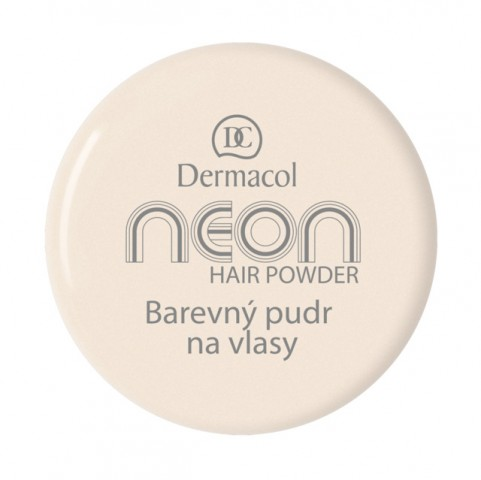 Dermacol Barevný pudr na vlasy Neon - Zlatá č.7 zlatá