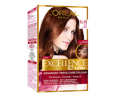 Loreal Paris Permanentní barva na vlasy Excellence Creme 7