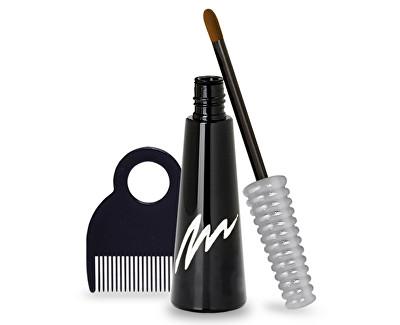 Color Mark Vlasový korektor šedin a odrostů (Temporary Liquid Hair Color) 4,5 ml Středně hnědá