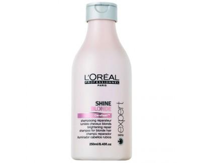 Loreal Professionnel Šampon pro obnovu a lesk blond vlasů Shine Blonde (Brightening Repair Shampoo) 250 ml