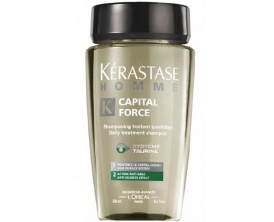 Kérastase Šampon na mastné vlasy pro muže Homme Capital Force (Daily Treatment Shampoo Anti-Oiliness Effect) 250 ml
