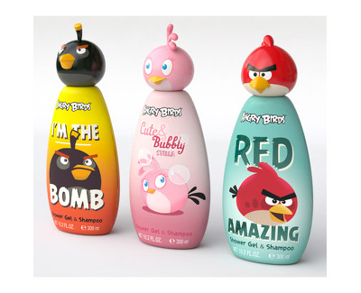 EP Line Disney Angry Birds šampon 2 v 1 pro děti 300 ml 150 ml