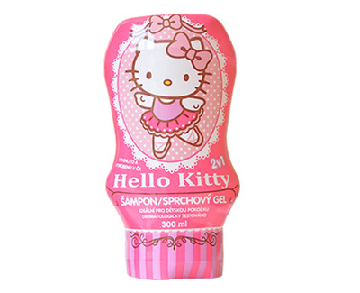 VitalCare Šampon a sprchový gel Hello Kitty 300 ml