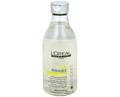 Loreal Professionnel Očišťující šampon pro snadno se mastící vlasovou pokožku (Pure Resource Citramine Shampoo) 1500 ml