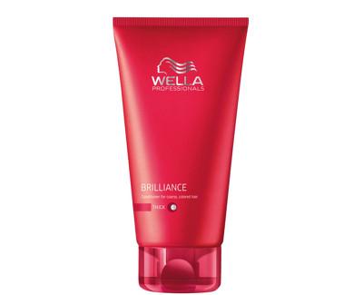 Wella Professional Kondicionér pro silné barvené vlasy Brilliance (Conditioner For Coarse Colored Hair) 200 ml