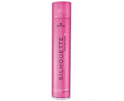 Schwarzkopf Professional Fixační sprej pro zářivou barvu vlasů Silhouette (Color Brilliance Hairspray Super Hold) 500 ml