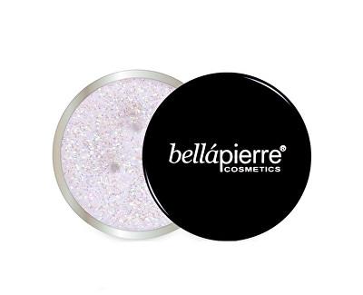 bellápierre Multifunkční kosmetické třpytky (Glitter Powder) 3,5 g Light Pink