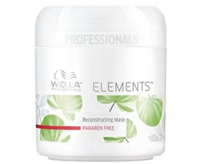 Wella Professional Vyživující hydratační maska na vlasy Elements (Renewing Mask) 150 ml
