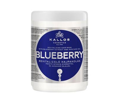 Kallos Revitalizační maska s výtažkem z borůvek (Blueberry Hair Mask) 275 ml