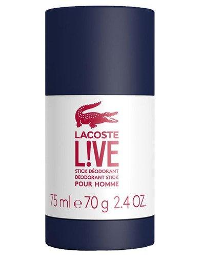 LACOSTE LIVE - tuhý deodorant 75 ml