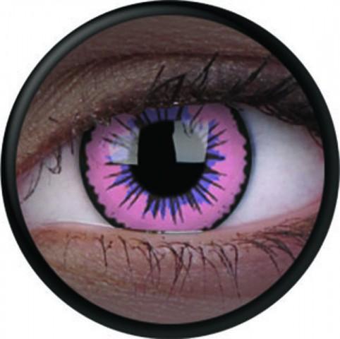 MaxVue Vision ColourVUE - Glow Pink Jubilee 2 čočky - crazy čočky
