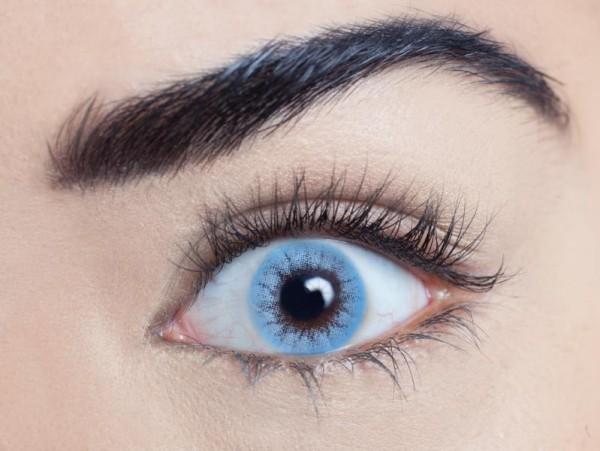 MesmerEyez - Buckingham Blue | jednodenní 2 čočky - barevní čočky