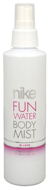 NIKE Fun Water In Love - tělový sprej 200 ml