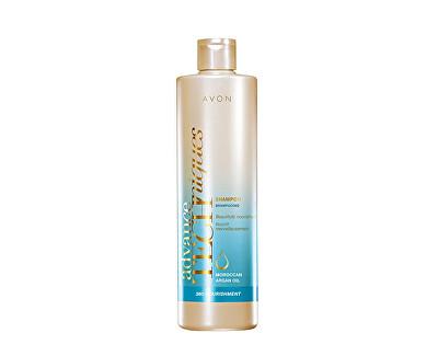 AVON Vyživující šampon s marockým arganovým olejem pro všechny typy vlasů Advance Techniques (360 Nourishment Moroccan Argan Shampoo) 400 ml