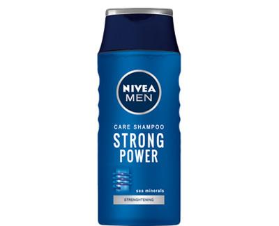 Nivea Šampon pro muže Strong Power 205 ml