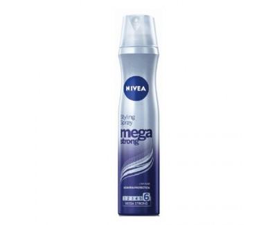 Nivea Lak na vlasy Mega Strong (Styling Spray) 250 ml