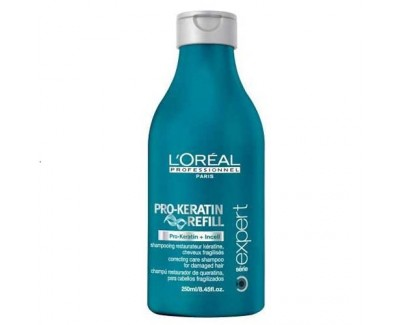 Loreal Professionnel Keratinový šampon pro poškozené vlasy Pro-Keratin Refill (Correcting Care Shampoo) 1500 ml