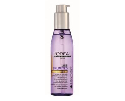 Loreal Professionnel Vyhlazující olej na vlasy Liss Unlimited 125 ml