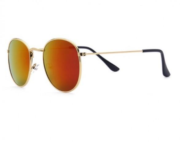 Vintage style - zlato-oranžová
