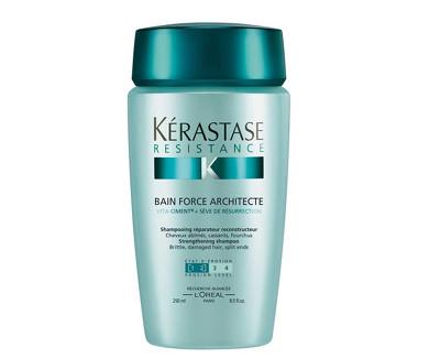 Kérastase Šampon pro velmi křehké a poškozené vlasy Bain Force Architecte (Reconstructing Shampoo) 250 ml
