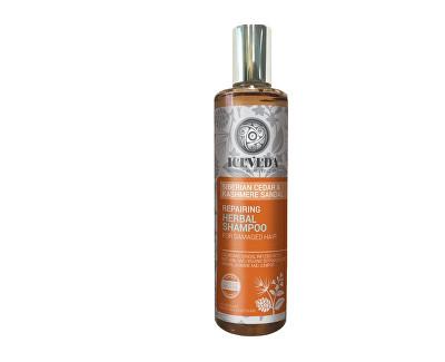 Iceveda Obnovující bylinný šampon Sibiřský cedr a santal 280 ml