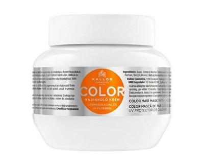 Kallos Maska pro barvené vlasy se lněným olejem a UV filtrem (Color Hair Mask) 275 ml