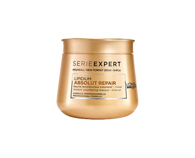 Loreal Professionnel Maska pro velmi poškozené vlasy Série Expert (Lipidum Absolut Repair) 250 ml